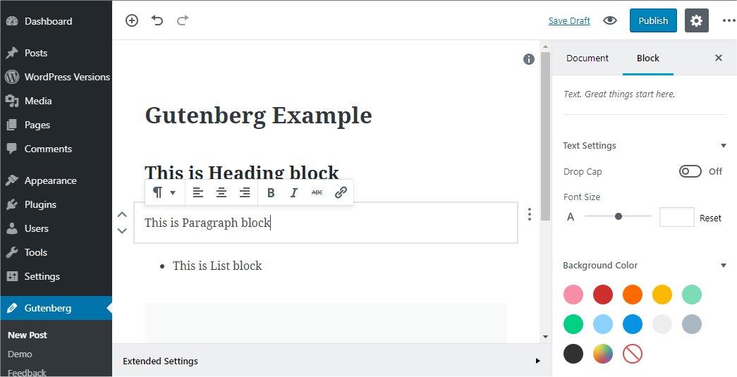 Gutenberg WordPress - Web Design WordPress - WordPress Web Developers