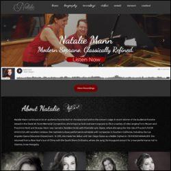Musician Custom Website Design With SoundCloud Integration