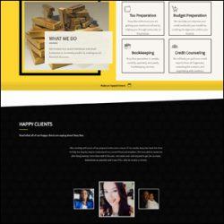 Accountant Website Development