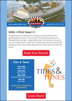 AEBR Tides and tunes promo