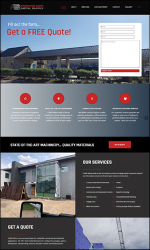 Website Design for Contractors - Website Developers for Construction - Norfolk Website Designers - Social Media Management