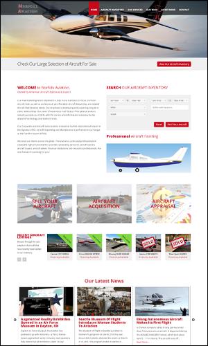Website Edit Norfolk Aviation