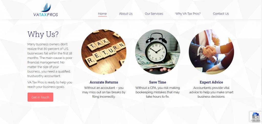 VA Tax Pros - Virginia Web Development - Virginia Web Design - Virginia Digital Marketing