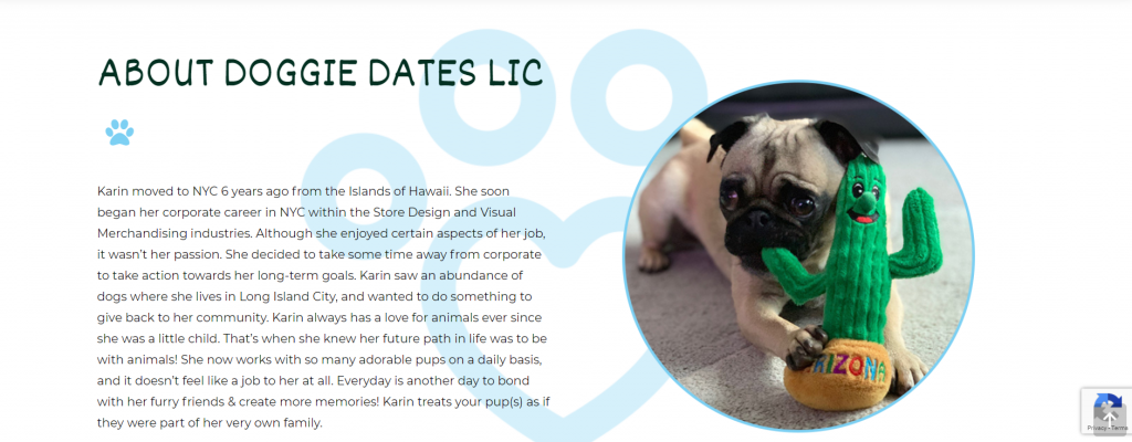 Doggie Dates - Web Design - Norfolk Web Development - Digital Marketing Firm