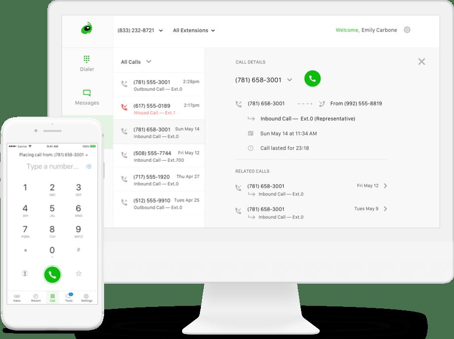 Grasshopper Phone System - Surf Your Name - Norfolk Web Design - Norfolk Email Marketing