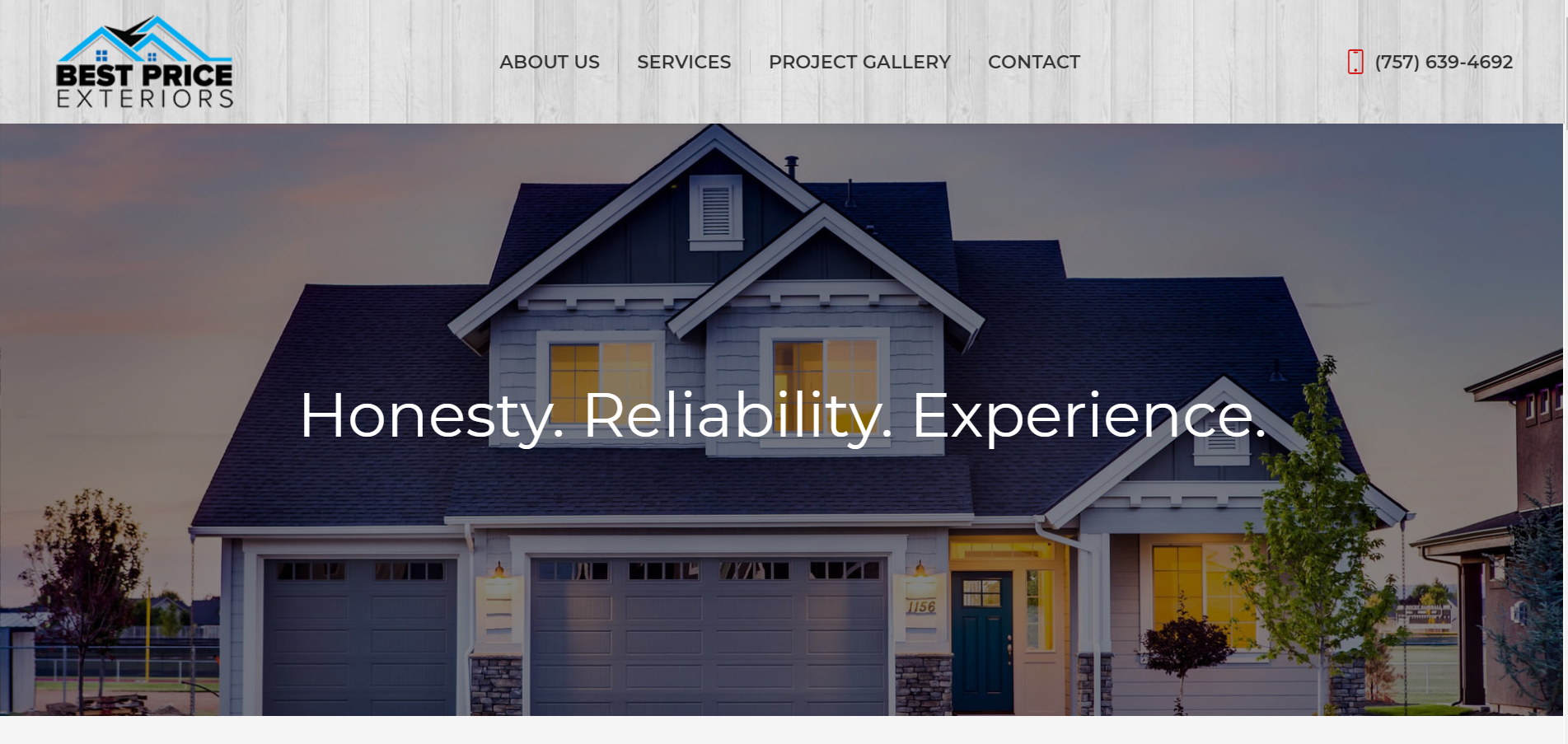 Best Price Exteriors - Website Launch - Web Design - Web Development - Local Web Designer