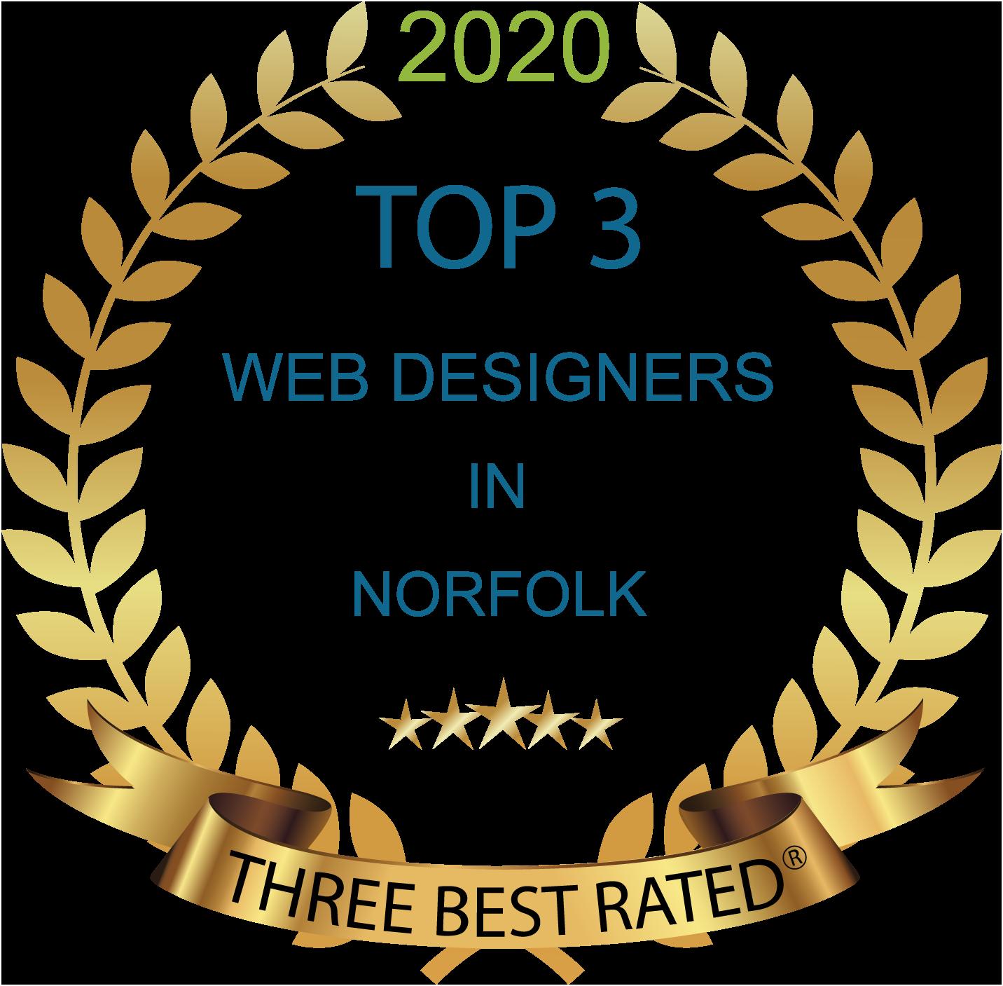 Three Best Rated - Norfolk Web Design - Web Development - Award Winning Web Design