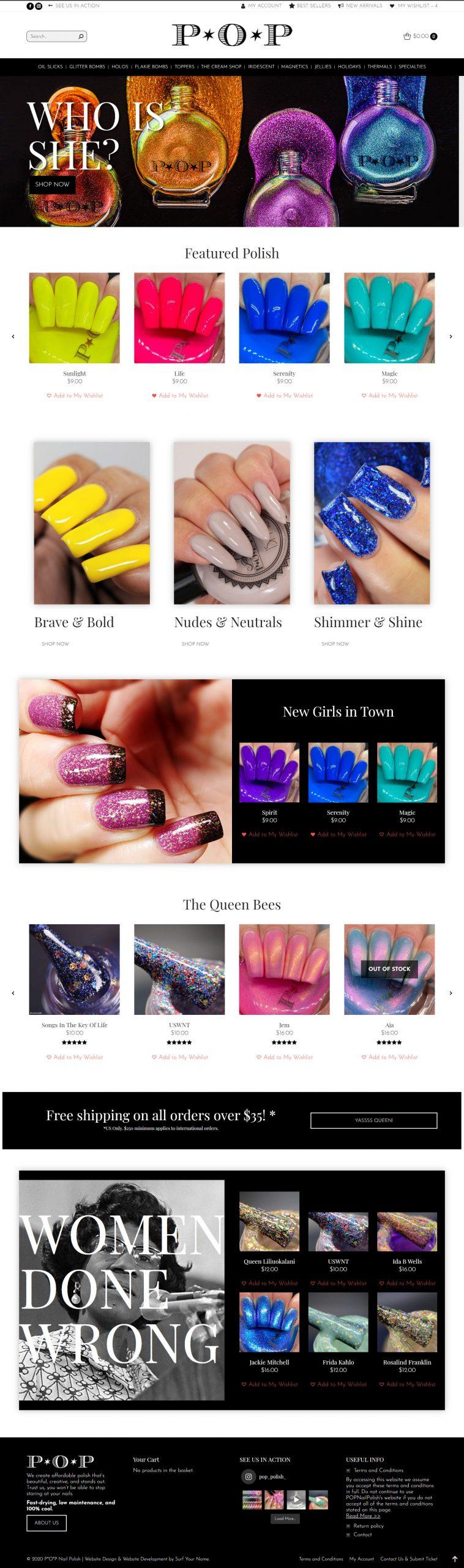 Shop POP - Web Design Packages - Norfolk Web Design - Virginia Beach Web Design