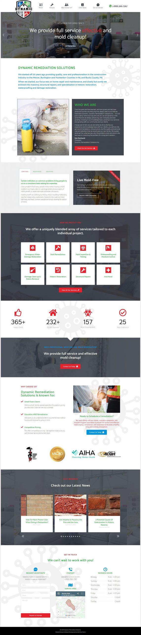 Surf Your Name - Virginia Web Design - Custom WordPress Website - WordPress Website - Web Design