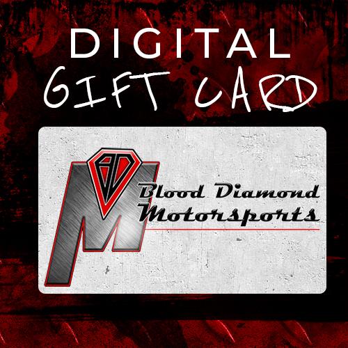 Blood Diamonds Motorsports - Gift Cards - WooCommerce - Custom WordPress