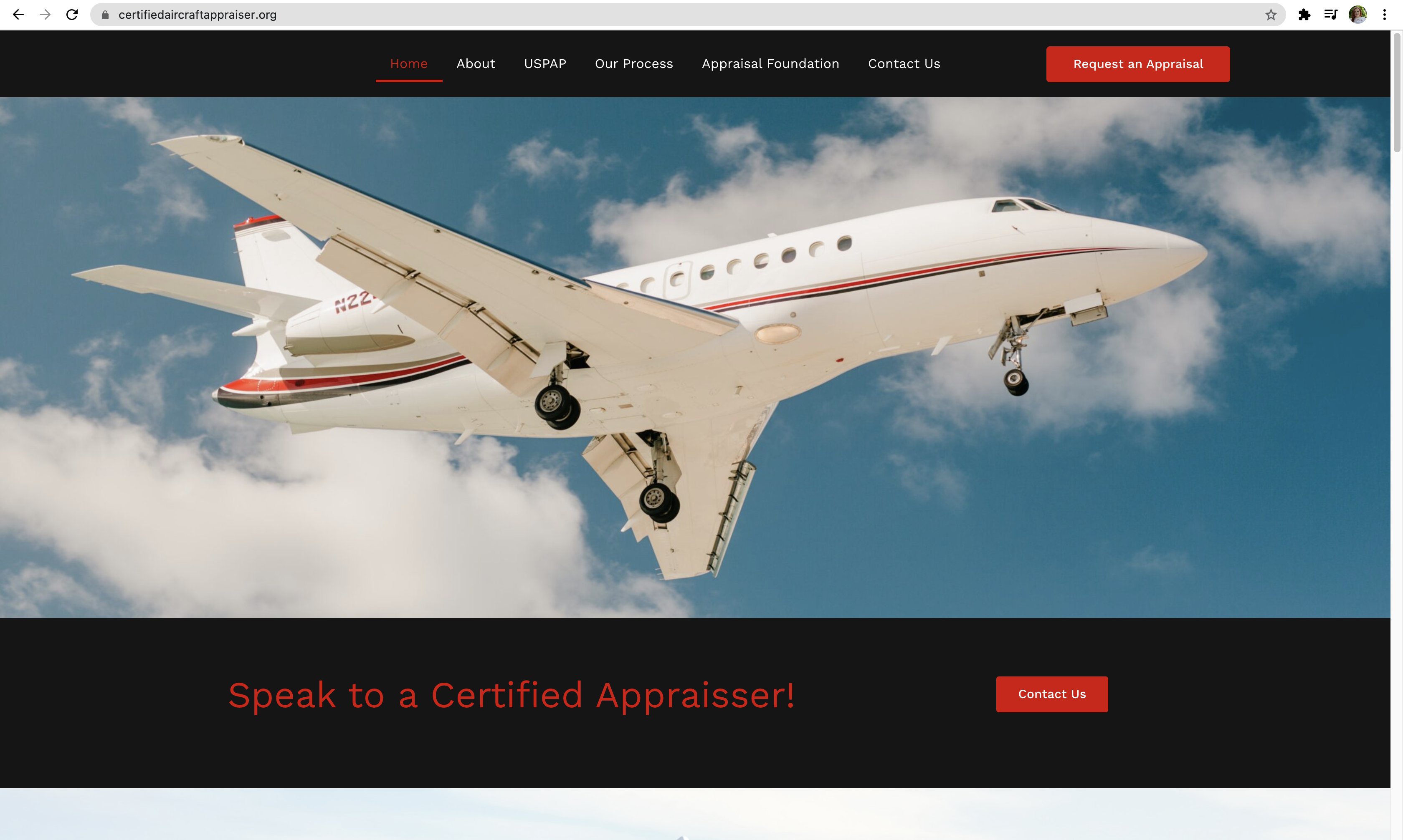 CAAA - Certified Aircraft Appraisers - Digital Marketing