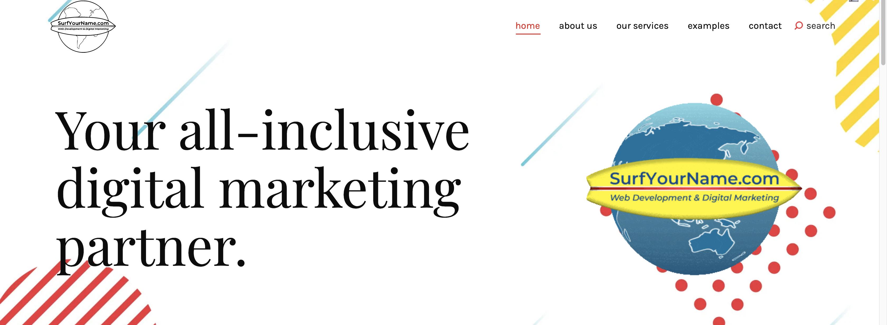 Inclusive Marketing - Hampton Roads Web Design - SurfYourName Web Developer
